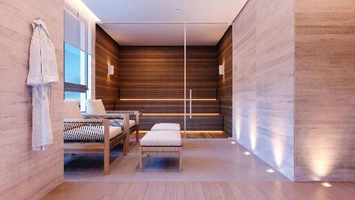 Sauna Seca e Descanso