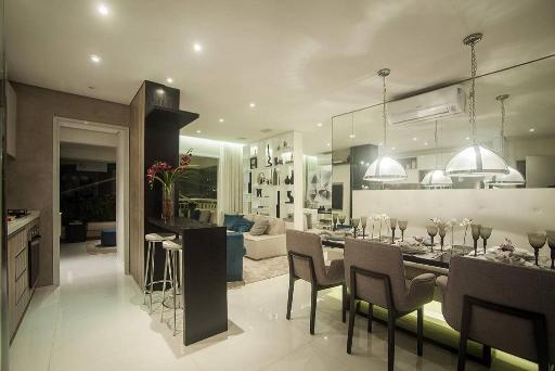 Living de 79 m²