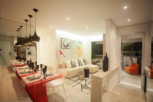Living de 61 m²