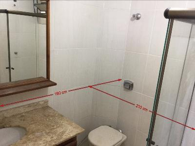 Medidas  banheiro