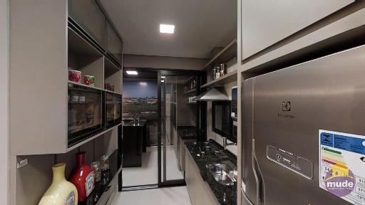 Cozinha Integrada com Varanda