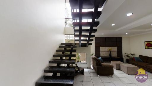 Linda escada em Mármore