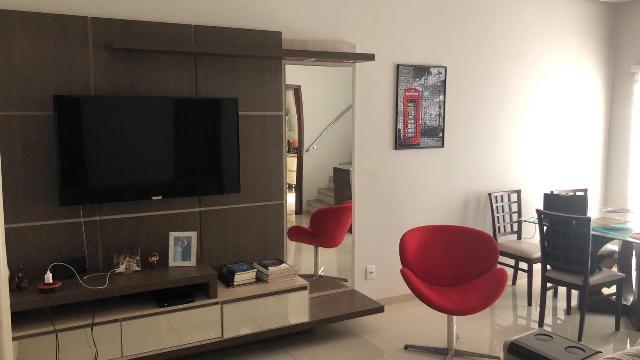 Sala de estar - painel e rack